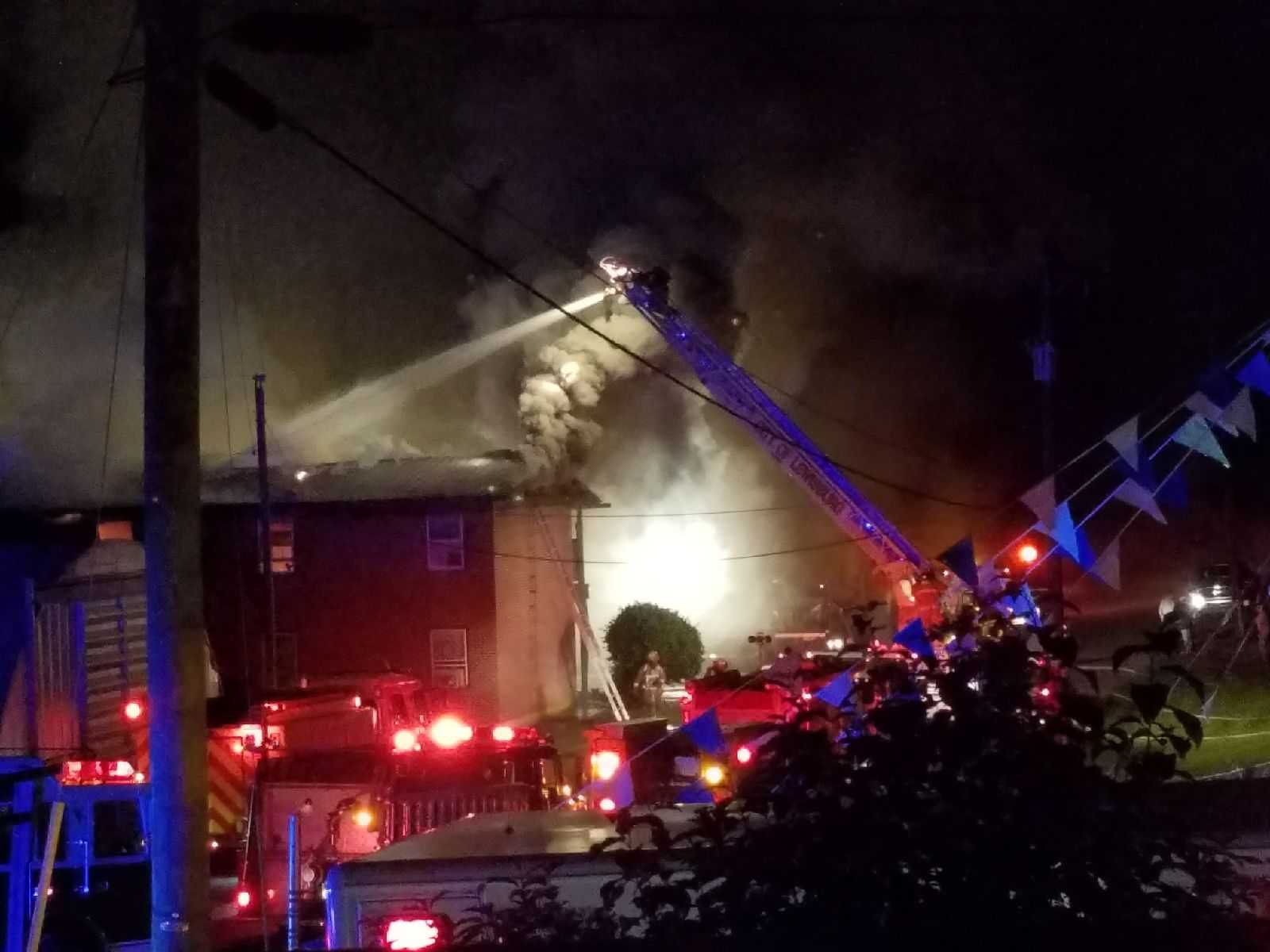 Fairlea apartment fire