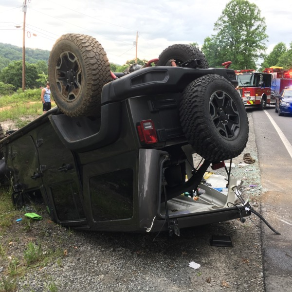 Accident in Mt. Hope