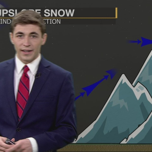 Weather 101: How Does Upslope Snow Form?