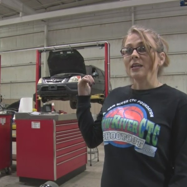 Local woman taking leaps into the auto industry