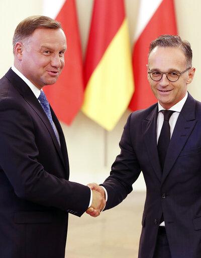 Andrzej Duda, Heiko Maas