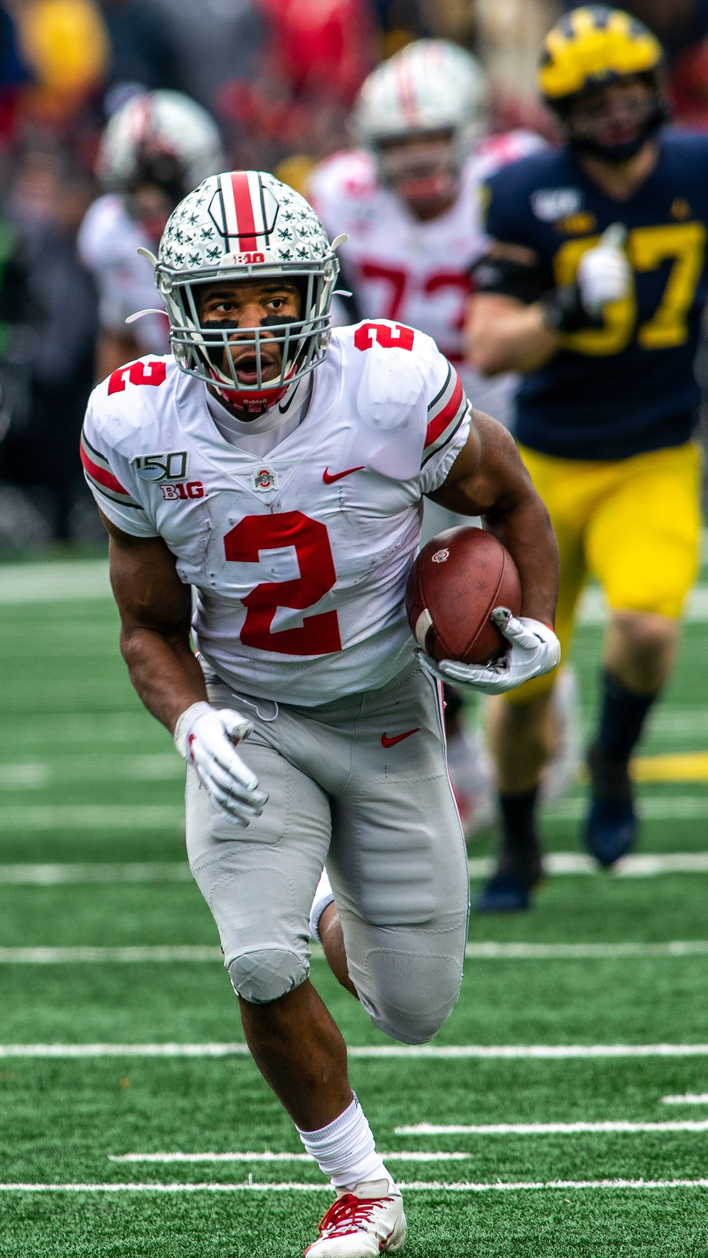 No 2 Ohio State Beats No 10 Michigan 56 27 For Record Run Wvns