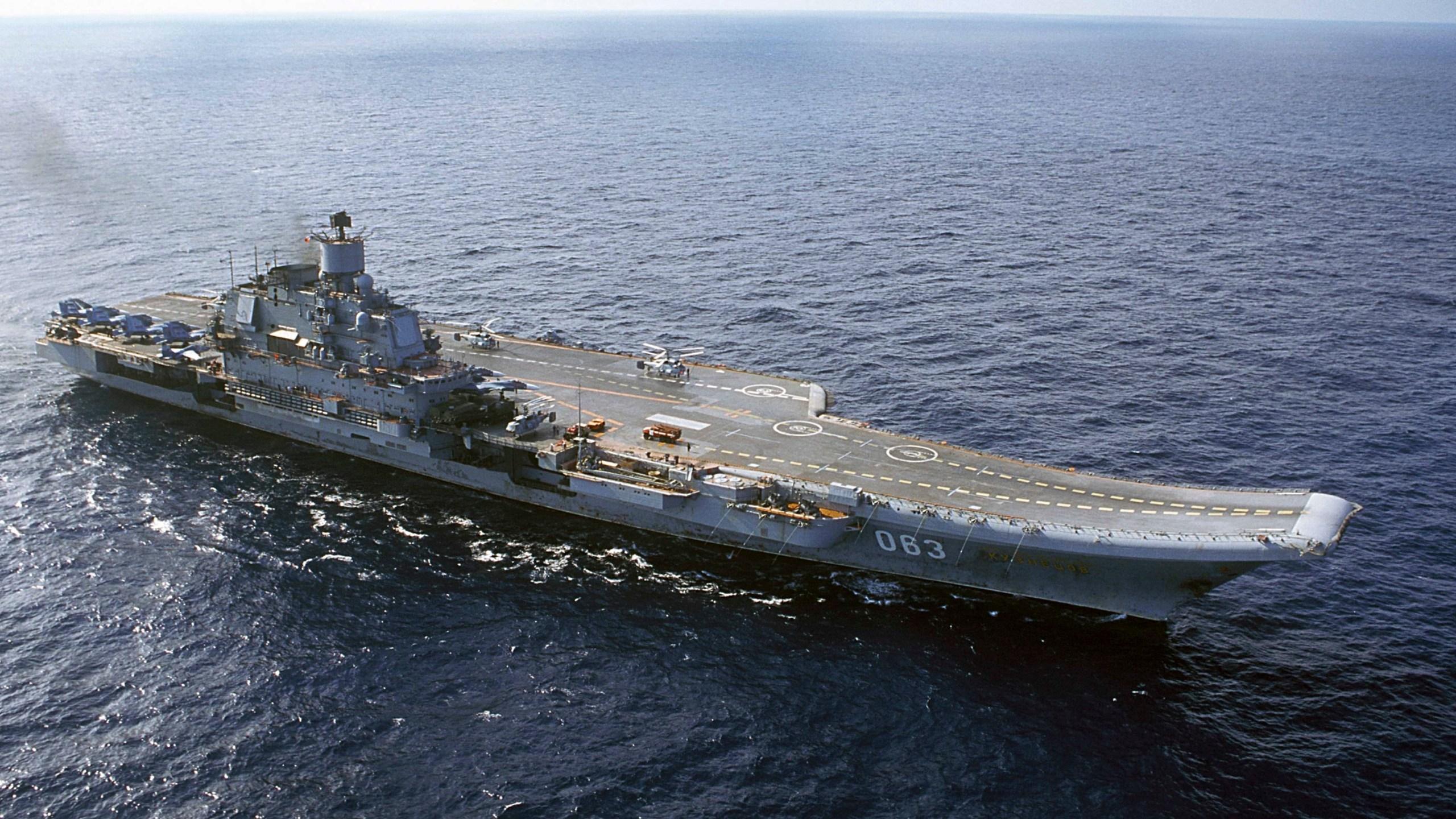 Admiral Kuznetsov carrier