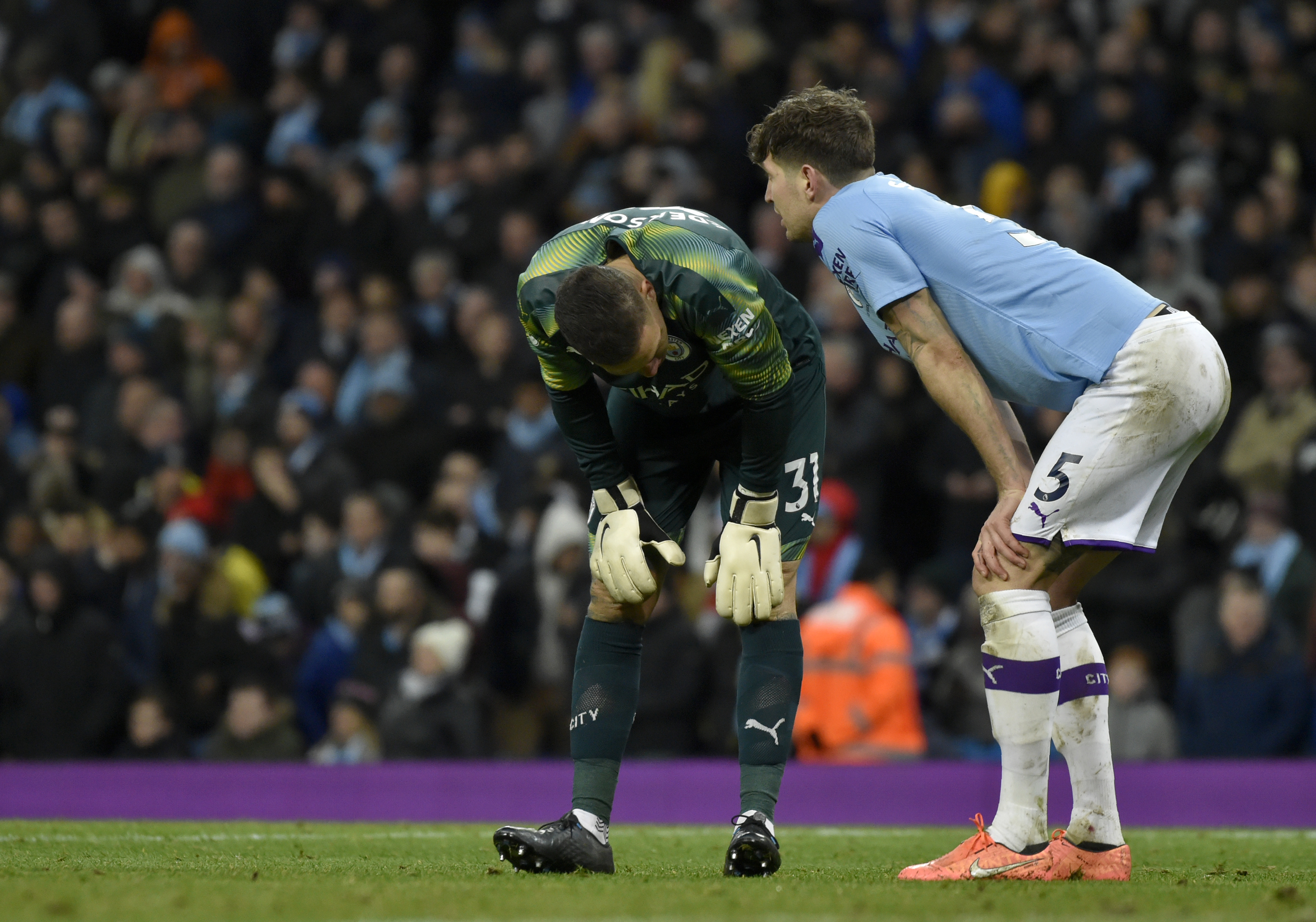 Man City held by Palace as EPL's big teams drop points