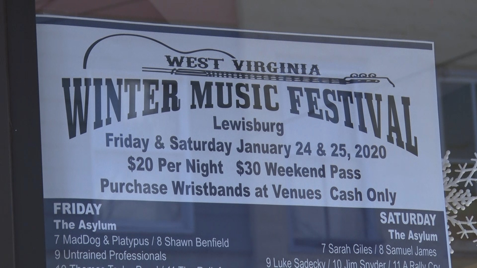 Halloween Events In Lewisburg Wv Oct 20, 2020 West Virginia Winter Music Festival returns to Lewisburg | WVNS