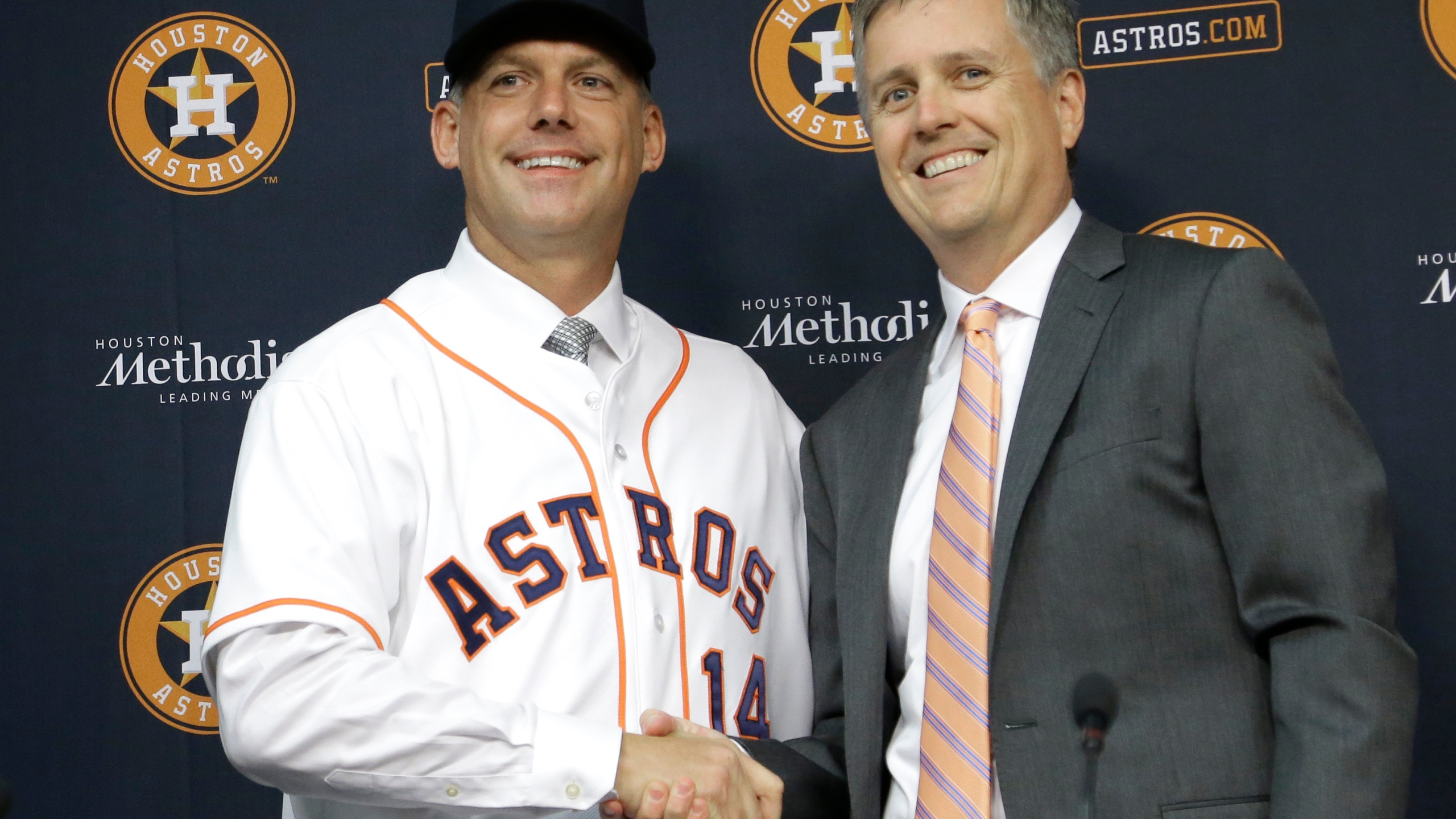 A.J. Hinch, Jeff Luhnow