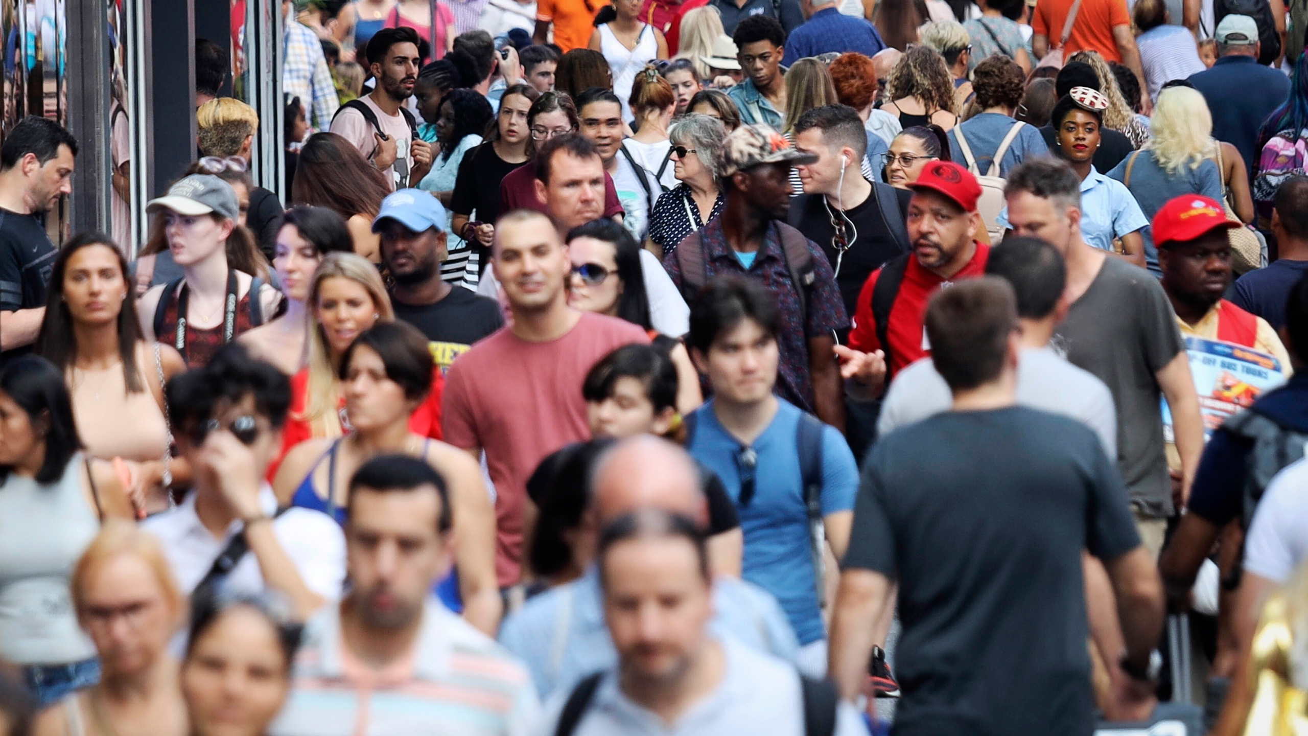 Pedestrian crowds