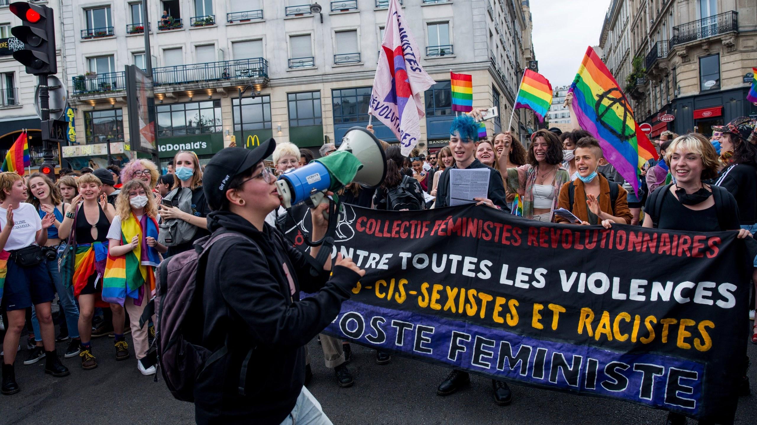 FRANCE GAY PRIDE