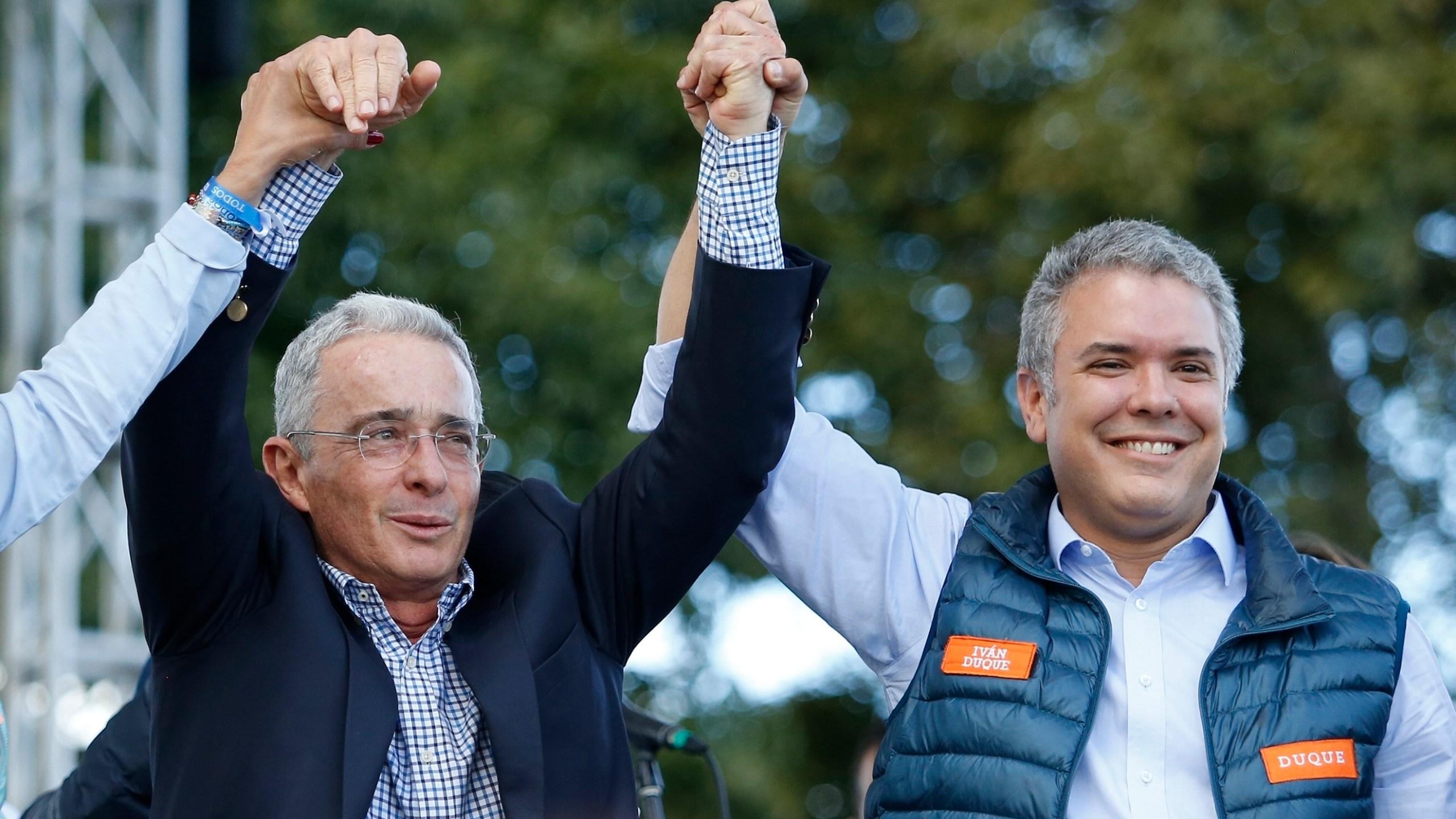 Ivan Duque, Alvaro Uribe
