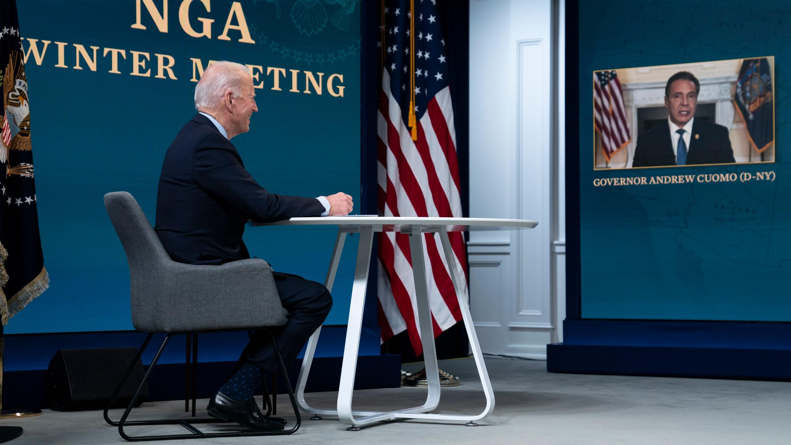 Joe Biden, Andrew Cuomo