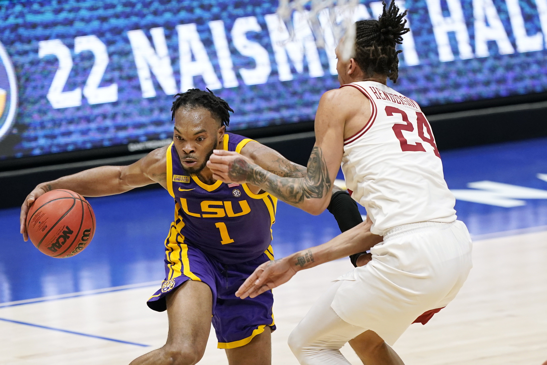 LSU upsets No. 8 Arkansas 78-71 to reach SEC tourney final   WVNS