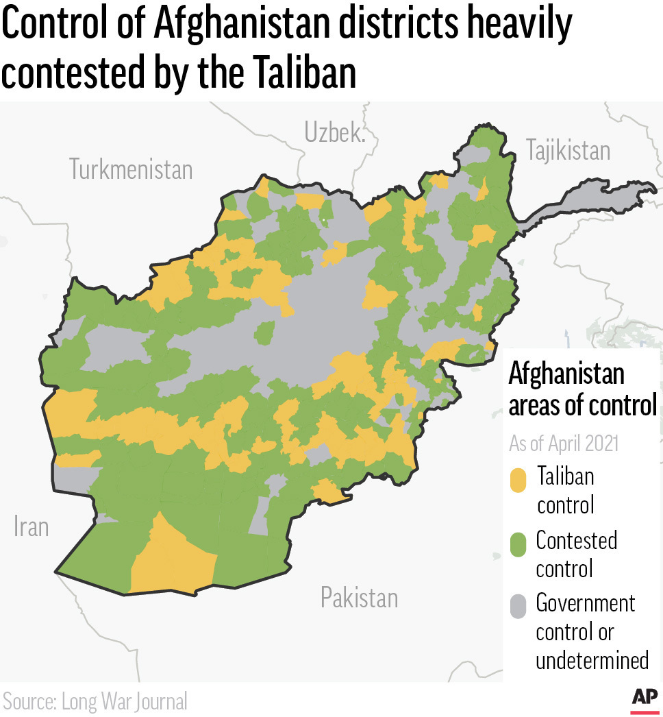 Afghanistan Mapping the Conflict