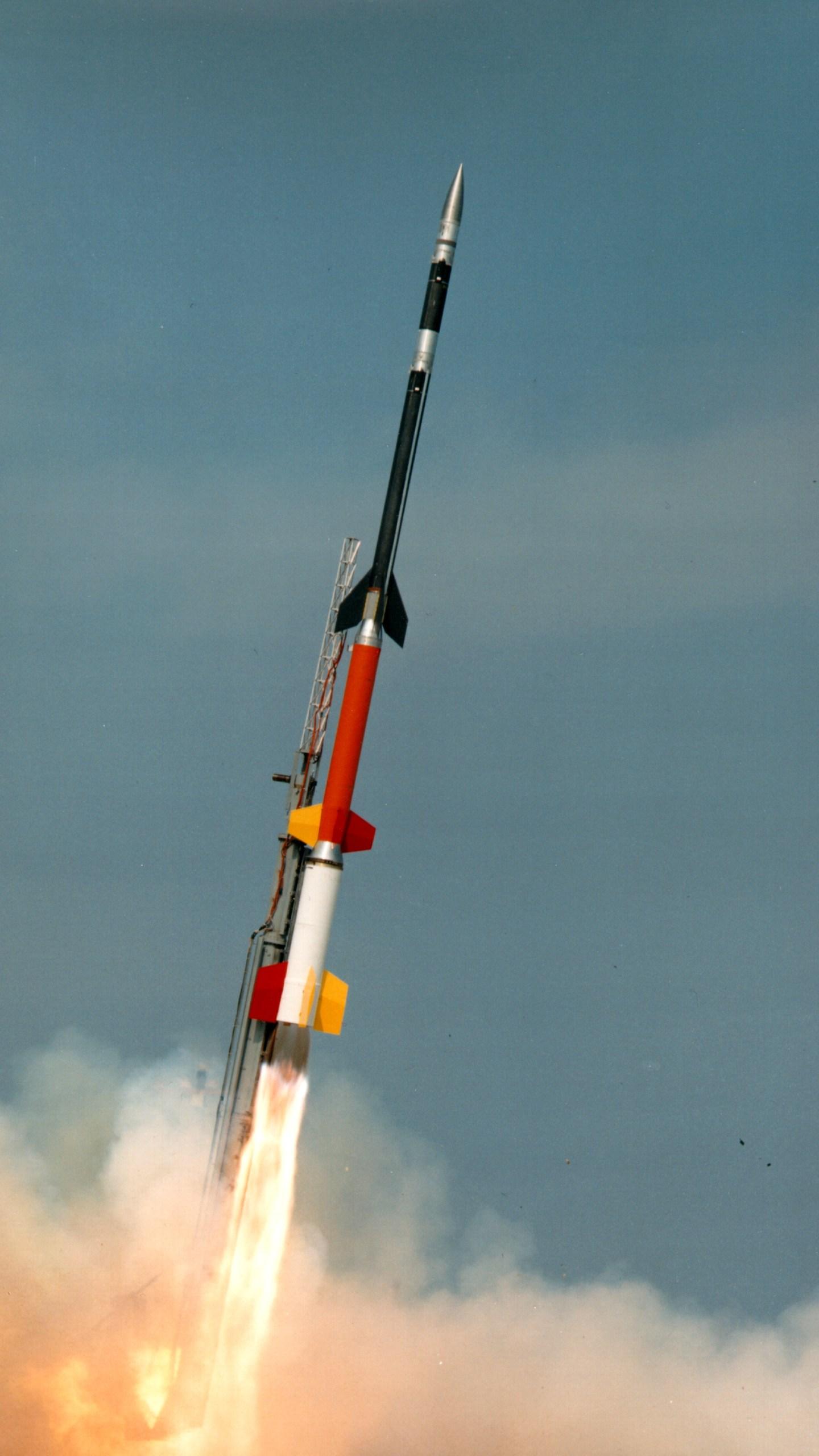 Black Brant XII Credits: NASA's Wallops Flight Facility