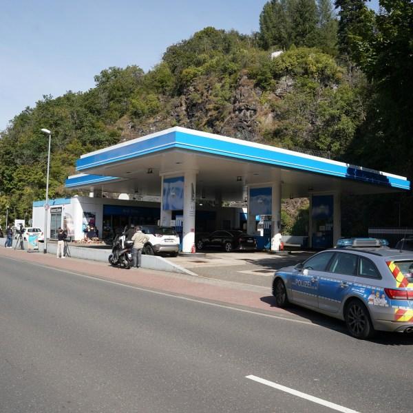 Murder at petrol station